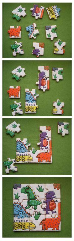 Dino Cookie Puzzle