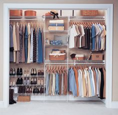 The Best Closet Systems Image Detail For Closetmaid Wire Shelving Wardrobe Solutions