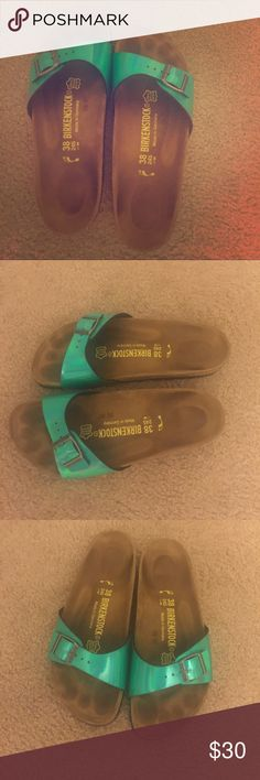 quality design 9fc8e ec580 158 Best Madrid images | Birkenstock sandals, Shoes, Bag