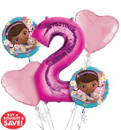 Doc McStuffins Party Supplies - Doc McStuffins Birthday Ideas - Party City