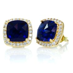 my obsession with sapphires would be complete with these ear rings. i would want them set in white gold though