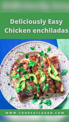 Enchilada Ingredients, Recipes With Enchilada Sauce, Sauce Recipes, Chicken Recipes, Cooking Recipes, Asian Recipes, Mexican Food Recipes, Healthy Recipes, Healthy Foods