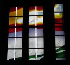 Ev.-Reformed Church Leodegar Pratteln-Augst Swiss - DERIX GLASSTUDIOS Taunusstein | Glass Painting, Glass Airbrush, Glass Etching, Glass Lamination