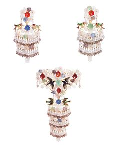 Aderezo Valenciana Earrings and Brooch VICENTE GRACIA