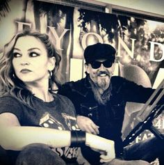 Wendy & Chibs // Sons Of Anarchy // I would totally ship this pairing if it kept her away from Jax and Abel