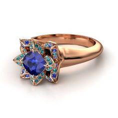 Ravenclaw Lotus Ring