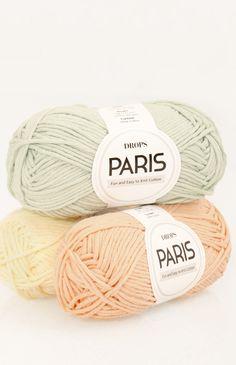 DROPS Paris - Leuk en makkelijk mee te werken katoen! 9a93949758