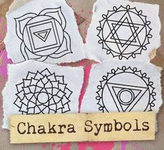 Chakra Symbols (Design Pack) design (UTPH1116) from UrbanThreads.com