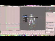 Making a secondlife animation with avastar and blender - YouTube