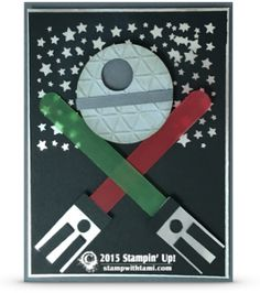 How to make a Star Wars Theme Party Pack video series | Stampin Up Demonstrator - Tami White - Stamp With Tami Crafting and Card-Making Stampin Up blog