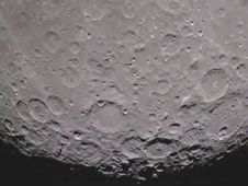 """NASA's GRAIL mission has beamed back its first video of the far side of the moon. The imagery was taken on Jan. 19 by the MoonKAM aboard the mission's """"Ebb"""" spacecraft. In the video, the north pole of the moon is visible at the top of the screen as the spacecraft flies toward the lunar south pole. One of the first prominent geological features seen on the lower third of the moon is the Mare Orientale, a 560-mile-wide (900 kilometer) impact basin that straddles both the moon's near and far side. To view the 30-second video clip, visit: http://go.nasa.gov/zZXAPs"""