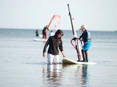 Nasi najmłodsi windsurferzy ;)