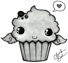 how to draw cute cupcakes - Google Search