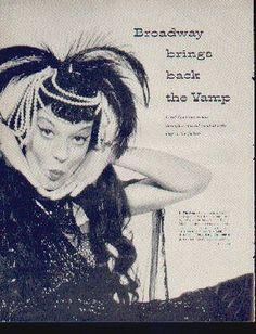 Carol Channing in The Vamp Life Magazine 1955