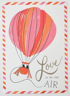 Save the Date Engagement Postcard set of 25/ Pink, Orange and Red from Etsy