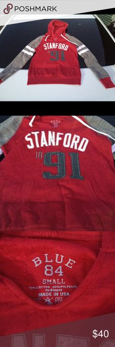 (NEW) Stanford University Hoodie Sweatshirt (NEW). Unworn. No tags. Size: XS. No holes or stains. Pet and smoke free home. Currently being stored. Hoodie. Tops Sweatshirts & Hoodies