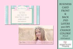 Business Card Template   Vintage Rose by DovieScottPhoto on Etsy, $5.59