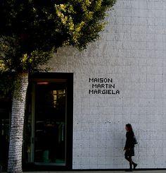 Exterior, Maison Martin Margiela, Los Angeles