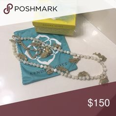 Kendra Scott Ivory Vanina RARE!! LIMITED EDITION!!! IMMACULATE CONDITION!! Kendra Scott Jewelry Necklaces