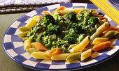 Pastasås med broccoli och ost