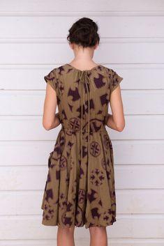 Платье Alabama Chanin