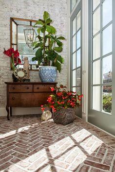 brick entryway flooring - Google Search
