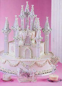 Great Cake Decorating Ideas | Candyland Crafts - Romantic Castle Cake Decorating Set