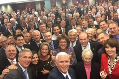 Republican Congress Tweets Group Selfie And People Noticed This One VERY Disturbing Detail