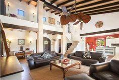 PALISADE ceiling fan, installed on Mallorca  Deckenventilator PALISADE, auf Mallorca von Casa Bruno
