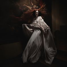 Sylwia Makris is also featured in Issue 13.5 of Dark Beauty Magazine Photographer: Sylwia Makris - Fine Art Photography #baroque