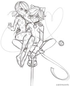 Chat Noir, miraculous ladybug, and ladybug image Cat Sketch, Drawing Sketches, Drawings, Meraculous Ladybug, Ladybug Comics, Lady Bug, Anime Miraculous Ladybug, Ladybug Und Cat Noir, Catty Noir