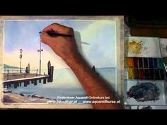 Watercolor Demo by Amit Kapoor series-5.flv - YouTube