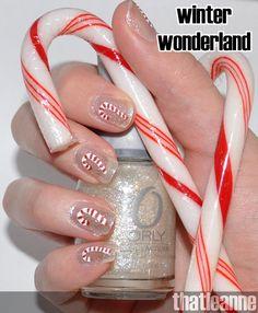 thatleanne christmas #nail #nails #nailart