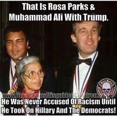 """guns-and-humor: """" Hillary hates blacks. She has said in the past that they are the burden on society but now she needs the idiot vote! Her and her husband are too fucken nasty to even call white trash! """""""