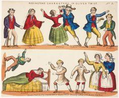 toy theatre sheet - Oliver Twist - Google Arts & Culture