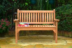 Refined seating for two- the Westminster Flat Arm Teak bench is traditionally crafted with our customers comfort in mind. Order today for FREE delivery. Parks Furniture, Teak Furniture, Furniture Design, Outdoor Furniture, Teak Garden Bench, Indoor Outdoor, Outdoor Decor, Dog Walking, Westminster