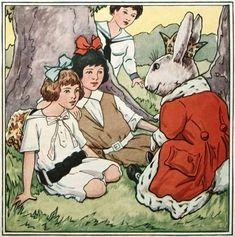 Vintage children art books | Vintage Children's Book Easter Illustration @ Vintage Fangirl