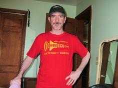 Scott Price wearing the KryKey USSR t-shirt