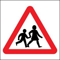Children crossing, for our roads