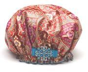 Dry Divas Shower Cap - Indie Garden great gift for teacher, friend or family. http://bluegiraffeboutique.com/categories/accessories/shower-caps-spa-hair-bands.html