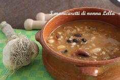 Zuppa di legumi I manicaretti di nonna Lella http://blog.giallozafferano.it/graziagiannuzzi/zuppa-legumi/