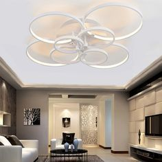 Modern Led Ceiling Lights For Living Room Bedroom Luminaria Ceiling Lamp Home Lighting Lamparas De Techo Remote Control Dimming - ICON2 Luxury Designer Fixures Modern #Led #Ceiling #Lights #For #Living #Room #Bedroom #Luminaria #Ceiling #Lamp #Home #Lighting #Lamparas #De #Techo #Remote #Control #Dimming #LampTecho