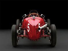 AUTO ITALY MILANO ALFA ROMEO - TIPO - B P3 - FULL DRIVE - L8 - 2,9L - 255HP - 701KG - RED METAL - 1934