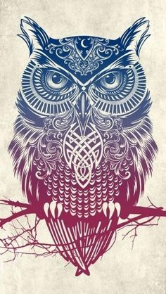 Tribal Owl Wallpaper For IPhone 5 #21104 Wallpaper   CamLib.