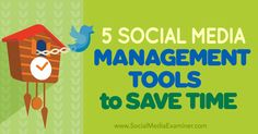 5 Social Media Management Tools to Save Time Viral Marketing, Online Marketing, Social Media Marketing, Social Networks, Digital Marketing, Social Media Management Tools, Social Media Tips, August 25, Facebook Instagram