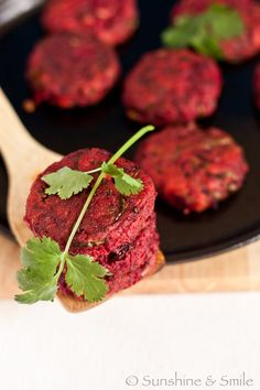Beet Chop/Beetroot Patty | Playful Cooking