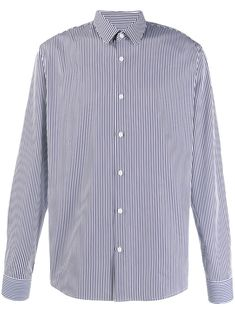 Sandro Classic Striped Shirt In Blue White Shop, Sandro, Stripe Print, Printed Cotton, Size Clothing, Baby Design, Blue And White, Navy Blue, Women Wear