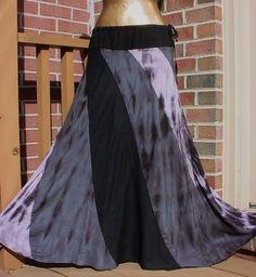 Funky Tie Dye Maxi Skirt
