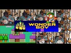 Wonderboy 3 Cover - Monster Village - Banjo Guy Ollie