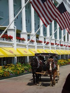 Our visit to the Grand Hotel on Mackinaw Island, MI